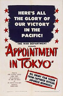 <i>Appointment in Tokyo</i> 1945 film by Jack Hively