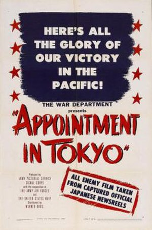Appointment in Tokyo - Image: Appointment in Tokyo Film Poster