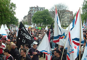 Assyrians in the Netherlands - Assyrians in the Netherlands protesting for the recognition of the Assyrian genocide