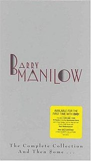 <i>The Complete Collection and Then Some...</i> 1992 box set by Barry Manilow