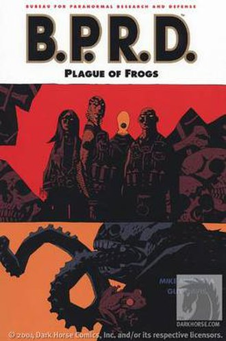 B.P.R.D.: Plague of Frogs - Trade Paperback Cover by Mike Mignola