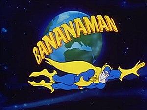 Bananaman - Title card