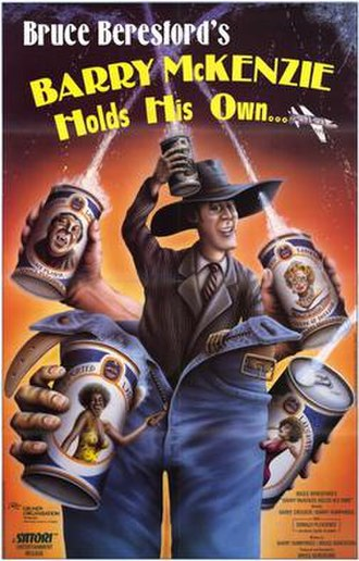 Barry McKenzie Holds His Own - Theatrical release poster