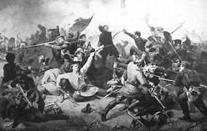 Battle of Bov - Combat during the Battle of Bov