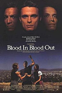 <i>Blood In Blood Out</i> 1993 film directed by Taylor Hackfor