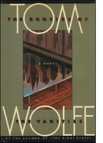 The Bonfire of the Vanities - Cover of the first edition