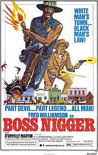 <i>Boss Nigger</i> 1974 blacksploitation film directed by Jack Arnold
