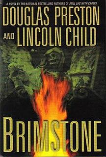 <i>Brimstone</i> (Preston and Child novel) novel by Lincoln Child