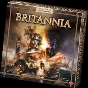 Britannia (board game) - Box art for Britannia Second Edition