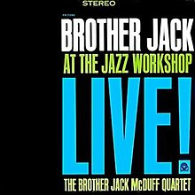 Jack Mcduff Live At The Front Room