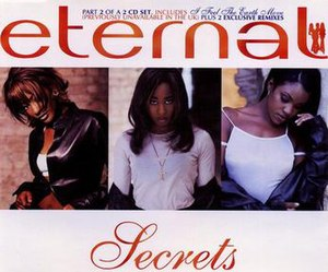 Secrets (Eternal song) - Image: CD Single Cover for Eternal Single Secrets CD2