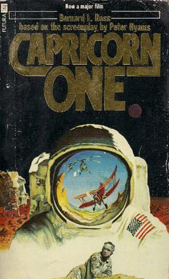 Capricorn One - Image: Capricorn One UK Cover