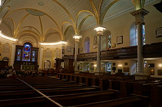 Cathedral of the Holy Trinity (Quebec) - Image: Cathedral of the Holy Trinity Quebec Interior