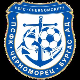 PSFC Chernomorets Burgas - Image: Chernomorets new logo
