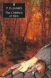 <i>The Children of Men</i> 1992 dystopian novel by P. D. James