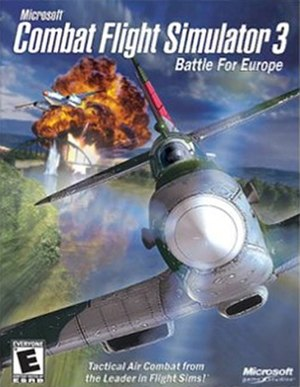 Combat Flight Simulator 3: Battle for Europe - Image: Combat Flight Simulator 3 Battle for Europe Coverart