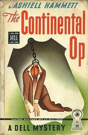 The Continental Op - First Dell mapback edition
