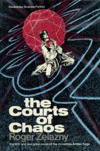 The Courts of Chaos - Dust-jacket illustration from the first edition