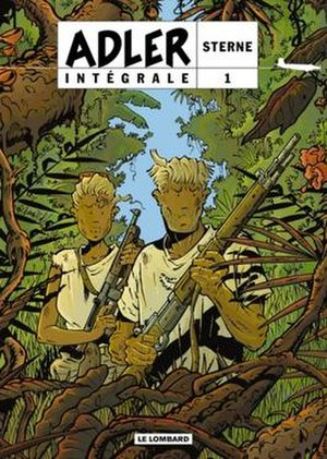 Adler (comics) - Cover of Adler: Intégrale 1