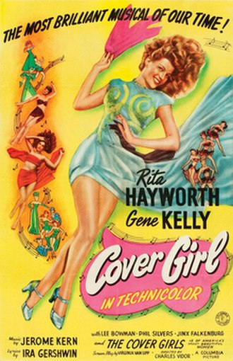 Cover Girl (film) - theatrical release poster