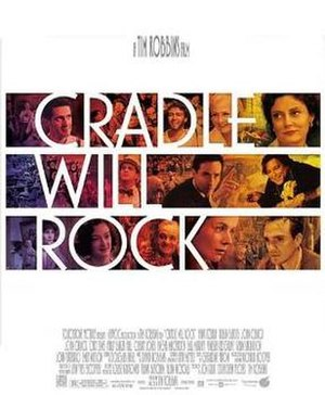 Cradle Will Rock - Theatrical release poster