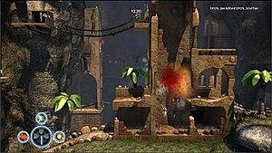 Crash Commando - A screenshot of gameplay in Crash Commando.