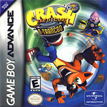 crash bandicoot 2 n tranced gba