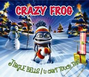 Jingle Bells/U Can't Touch This - Image: Crazy Frog Jingle Bells CD cover