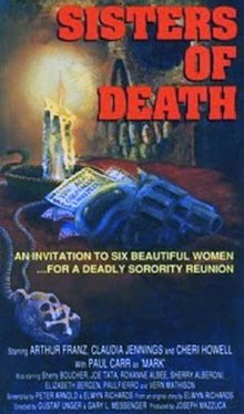 DVD cover of the movie Sisters of Death.jpg