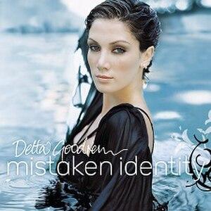 Mistaken Identity (Delta Goodrem album) - Image: Delta Goodrem Mistaken Identity