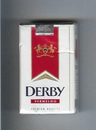 Derby (cigarette) - Image: Derby Vermelho (Full flavour)