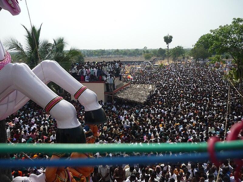 File:Devotees Kulamangalam Ayyanar.JPG
