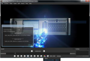 CinePlayer - Image: Doremi Labs Cine Player main windows screenshot
