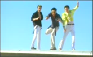 Dragostea Din Tei - A still image from O-Zone's music video