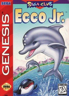 <i>Ecco Jr.</i> 1995 video game