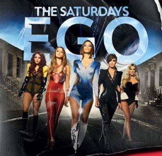 Ego (The Saturdays song) - Image: Egosinglecoverartwor k