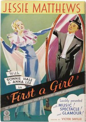 First a Girl - Film poster