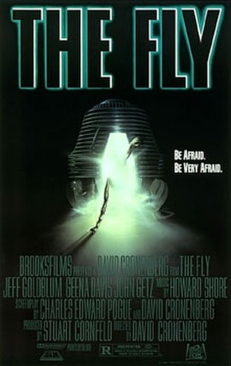 The Fly (1986 film) - Theatrical release poster