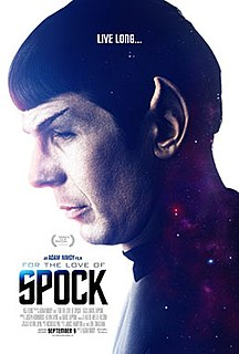 <i>For the Love of Spock</i> 2016 film by Adam Nimoy