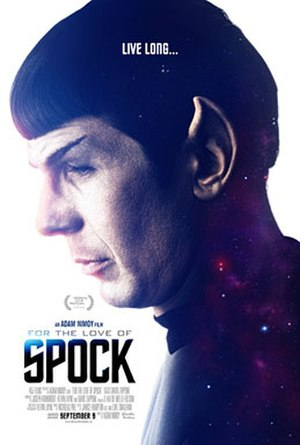 For the Love of Spock - Theatrical release poster