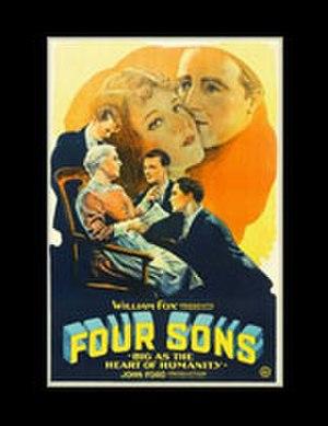 Four Sons - Original 1928 film poster
