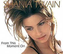 Shania Twain — From This Moment On (studio acapella)