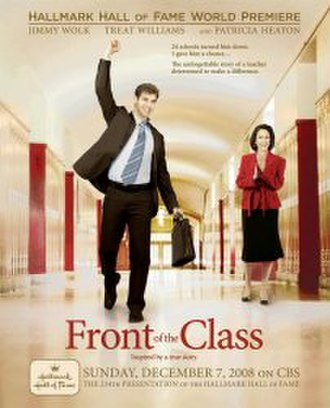 Front of the Class (film) - Image: Front of the Class poster