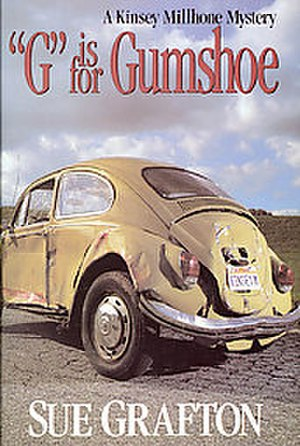 """G"" Is for Gumshoe - Cover of the book ""G"" Is for Gumshoe by Sue Grafton."