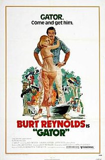 <i>Gator</i> (film) 1976 film by Burt Reynolds