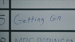 Getting On (U.S. TV series) - Image: Getting On Title