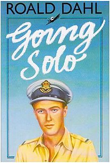 <i>Going Solo</i> memoir by Roald Dahl