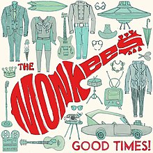 Good Times! (The Monkees) (Front Cover).jpg