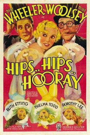 Hips, Hips, Hooray! - Image: Hips, Hips, Hooray! Film Poster