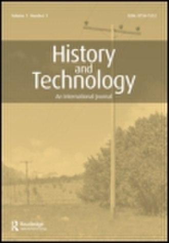 History and Technology - Image: History and Technology (journal)